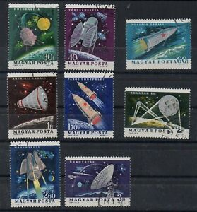 STAMPS - HUNGARY - 1964 - SPACE RESEARCH - Used - Full Set -