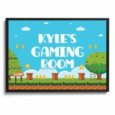 Cartoon Gaming Art Posters