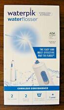 Waterpik Waterflosser- Cordless Express, Brand New, White, WF-02W011 New In Box