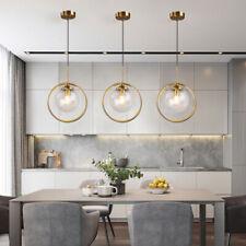 Modern Pendant Light Kitchen Lamp Glass Chandelier Lighting Room Ceiling Lights