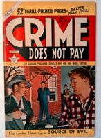 Crime Does Not Pay #94 Lev Gleason 1950 FN+ Golden Age Comic Book 1st Print