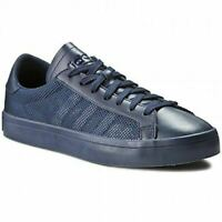 adidas ORIGINALS MEN'S COURT VANTAGE TRAINERS NAVY SNEAKERS SHOES RETRO NEW BNWT
