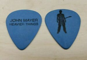 John Mayer Signature Blue Guitar Pick - 2003 Heavier Things Tour NEW