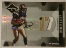 2008 Leaf Limited Donnie Avery #309 RC Patch Auto PRIME #19/49 3 color PHENOM