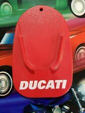 Ducati Official Red Motorcycle Kick Stand Pad - Text