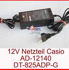 12v 1,4a Power adaptor fuente de alimentación Casio ad-a12140 dt-825adp-g, por ejemplo, para dt-964 - n13