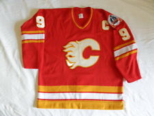 CCM Authentic Calgary Flames 1989 Lanny McDonald Jersey Vintage 80s Stanley Cup
