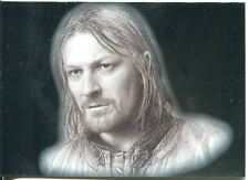 Lord Of The Rings Masterpieces I Silver Foil Chase Card #9 Boromir