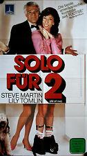 All of Me Solo für 2 German video movie poster Steve Martin, Lily Tomlin Tennant