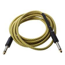 Cable de conexion Amarillo para guitarra acustica Bass electrico 3M T3E1