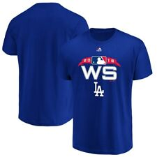 NWT Men's Los Angeles Dodgers 2018 World Series T-shirt -Blue- XL by Majestic