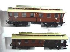 """MÄRKLIN 43049 Wagen Set """"Langenschwalbacher"""" Epoche I  KPEV, NEU, DC-Achsen,OVP"""