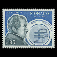 Monaco 1975 - 100th Anniv of the Birth of Andre Ampere Physicist - Sc 1001 MNH