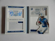 Phillip Dorsett Indianapolis Colts 2015 Playbook Rookie/Patch/ Auto 11/49