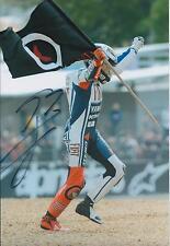 Jorge Lorenzo SIGNED MotoGP Dainese YAMAHA 12x8 Photo AFTAL COA Genuine