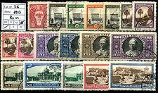 Vaticano - 1933 -Giardini e Medaglioni - serie completa S.6  - usata