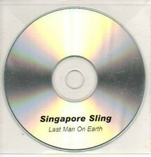 (492K) Singapore Sling, Last Man On Earth - DJ CD