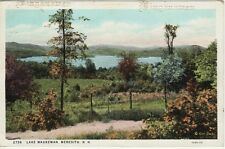 Antique POSTCARD c1931 Lake Waukewan MEREDITH, NH NEW HAMPSHIRE