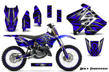 SUZUKI RM 125 250 Graphics Kit 2001-2009 CREATORX DECALS BTBLNPR