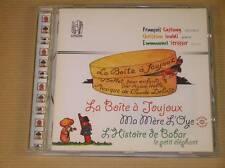 CD / LA BOITE A JOUJOUX, MA MERE L'OYE, BABAR / BALLET POUR ENFANTS / RARE / TBE