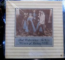 Rick Wakeman; The Six Wives of Henry VIII    A & M