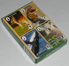 AUSTRALIAN ANIMAL PHOTOS PLAYING CARDS pack of game BRAND NEW & SEALED DECK