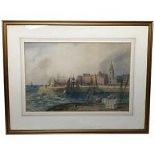 Antique (Pre - 1900) Original Maritime Art Paintings