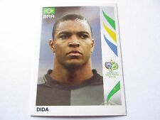 Sticker PANINI Fifa World Cup GERMANY 2006 N°380 Brazil Dida