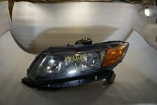 2012 Honda Civic Left Driver HeadLight Assembly Halogen OEM