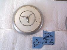 Mercedes Benz Ponton Hubcap good hub cap caps Radkappe verchr.gr.Stern 300-Pt  c