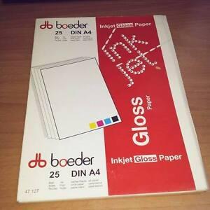 inkjet gloss paper