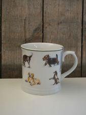 Kitchen Craft - Kaffee Becher / Tasse - Hunde - Porzellan - Landhaus / England