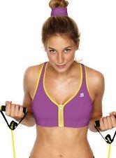 Brassières de fitness violet pour femme