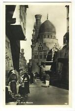 AK Cairo, Egypt, The Blue Mosque, Foto-AK 1935