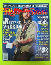 ROLLING STONE USA MAGAZINE 1003/2006 Eddie Vedder Nelly Furtado James Brown Nocd
