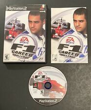 PLAYSTATION 2 PS2 EA SPORTS F1 CAREER CHALLENGE RACING VIDEO GAME