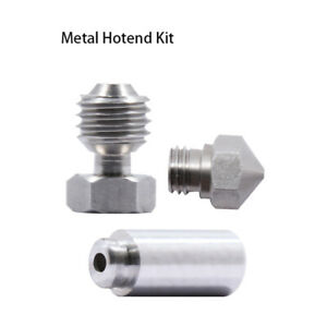 1pc  MK10 All Metal Hotend Kit 0.4mm Nozzle 3D Printer Stainless Steel AU