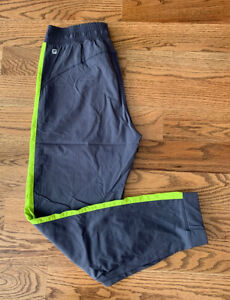 Fabletics Running Athletic Gym Pants Women's Size S Gray Stretch EUC