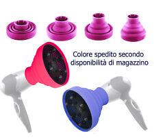 Diffusore per phon pieghevole silicone da viaggio portatile universale phon