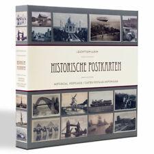 Leuchtturm Sammelalbum inkl. 50 Hüllen für 600 Postkarten Ansichtskarten Ordner