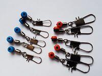 Slider float adaptors x 10, quick change - bream, roach, tench fishing