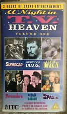 Night In TV Heaven Vol 1 Supercar Space 1999 & more VHS Video Gerry Anderson ITC