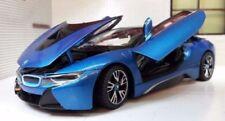 Véhicules miniatures bleus Bburago BMW