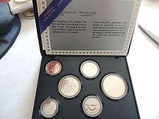 1986 Canadian Mint Specimen Coin Set In Case