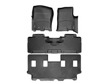 WeatherTech FloorLiner for Expedition EL/Navigator L - 1st/2nd/3rd Row - Black
