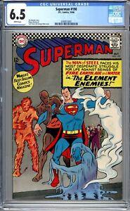 Superman #190 - CGC Graded 6.5 (FN+) 1966- Silver Age