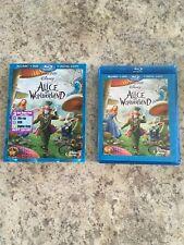 Alice in Wonderland (Blu-ray/DVD ONLY — NO Digital Copy) TIM BURTON LIVE ACTION