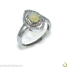 Ringe mit Opal Edelsteinen echten 59 (18,8 mm Ø) natürliche