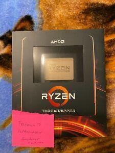 AMD Ryzen Threadripper 3970X 32 core, 64 Thread 3.7 GHz Processor. New/Sealed.