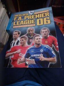 Complete Merlin Premier League Sticker Album 06 2006